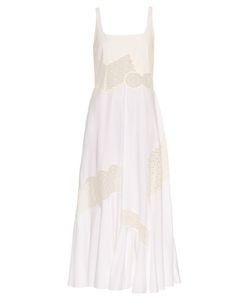 Stella Mccartney | Sacha Broderie-Anglaise Panel Maxi Dress