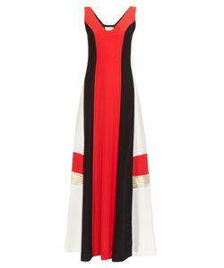 ZEUS + DIONE   Pythian Colour-Block Silk Dress