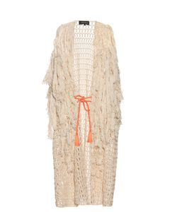 TABULA RASA | Idris Fringed Knit Cover-Up