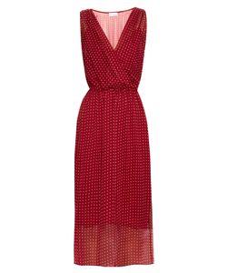 RAEY   Polka-Dot Print Silk-Chiffon Dress