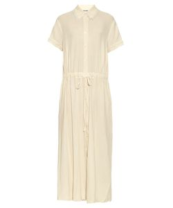 Raquel Allegra | Drawstring-Waist Cotton Shirtdress