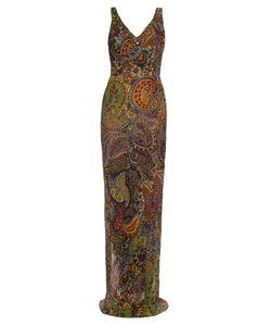 RAEY   Bias-Cut Paisley-Print Slip Dress