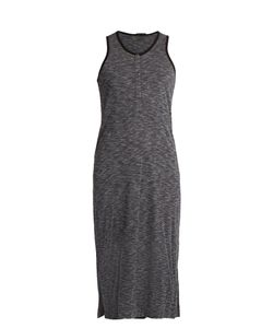 ATM | Sleeveless Jersey Henley Dress