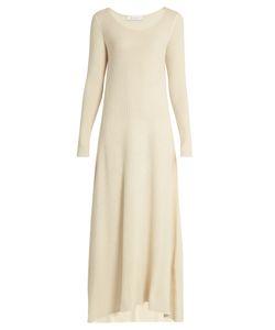 RYAN ROCHE   Scoop Neck Cashmere-Knit Maxi Dress