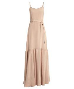 RYAN ROCHE   Sleeveless Dropped-Waist Silk Maxi Dress