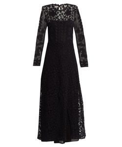 Red Valentino | Macramé-Lace Maxi Dress