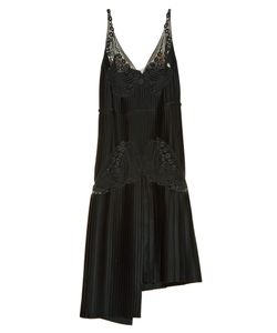 Stella Mccartney | Lace And Pleated-Satin Dress