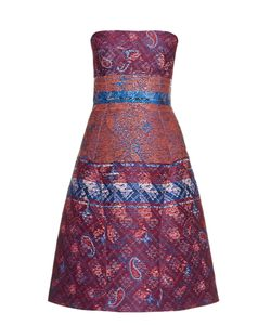Mary Katrantzou | Kelly Jacquard Strapless Dress