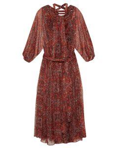 Zimmermann | Empire Palmette-Print Silk-Chiffon Midi Dress