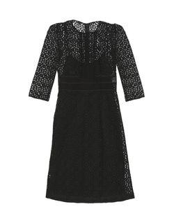 Burberry Prorsum | Contrasting-Lace Shift Dress