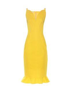 Oscar de la Renta | Ruffle-Trimmed Sleeveless Dress