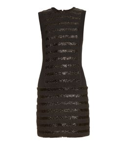 Sonia Rykiel | Collarless Striped Tweed Dress