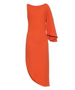 OSMAN | Zenoba Asymmetric Stretch-Crepe Dress