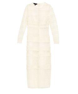 Burberry Prorsum | Long-Sleeved Macramé-Lace Dress