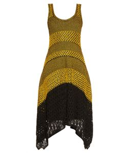 Proenza Schouler | Bi-Colour Crochet Dress
