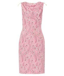 Oscar de la Renta | -Print Silk-Mikado Dress