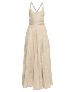 BROCK COLLECTION | Daph Linen-Bend Dress
