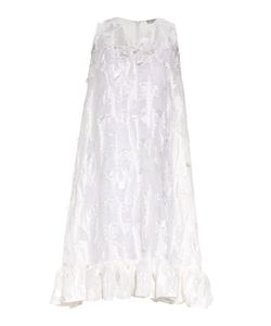 Balenciaga | Distressed Fil Coupé Ruffle-Trimmed Dress