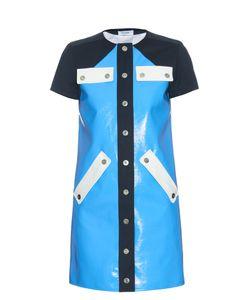 Courreges | Contrast-Panel Button-Through Dress