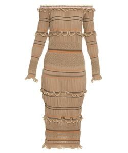 Peter Pilotto | Atmos Smocked Knit Midi Dress