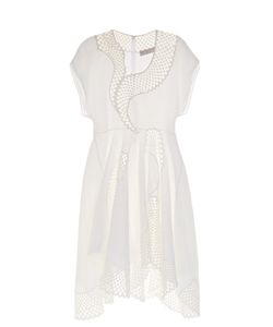 Stella Mccartney | Clotilde Short-Sleeved Embroidered Dress