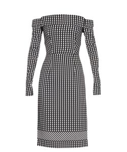Preen By Thornton Bregazzi | Olivia Off-The-Shoulder Gingham Dress