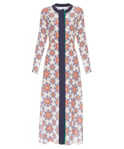 Jonathan Saunders | Lila Star-Print Crepe De Chine Dress