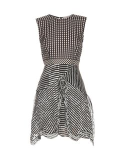 Preen By Thornton Bregazzi | Ellie Silk-Georgette Gingham Dress