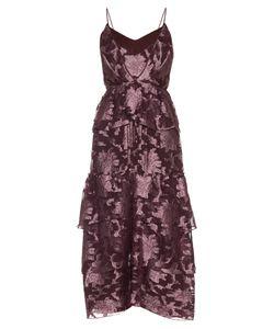 Erdem | Justina Posey Fil-Coupé Silk-Chiffon Gown