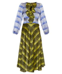 Duro Olowu | Harlem Deco-Print Silk Dress
