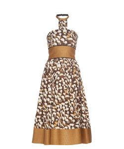 Sophie Theallet | Mogambo Abstract-Print Strapless Dress