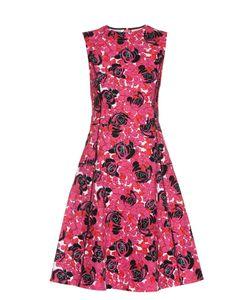 Oscar de la Renta | -Print Cotton-Blend Dress