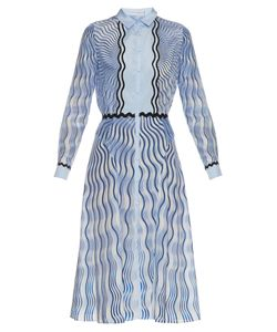 Mary Katrantzou | Silcott Snuffbox-Print Silk And Cotton-Blend Dress