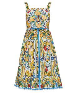 Dolce & Gabbana | Majolica-Print Cotton Dress