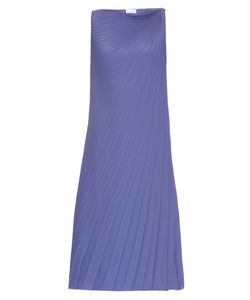 RAEY | Pleated Knot-Shoulder Dress