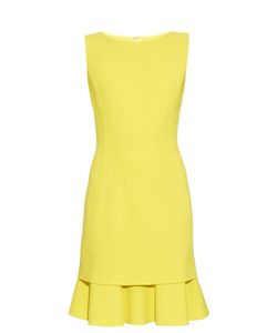 Oscar de la Renta | Sleeveless Tiered-Hem Dress