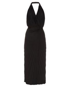 RAEY | Pleated Halterneck Wrap Dress