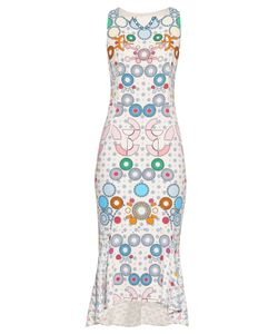 Peter Pilotto | Kia Geometric-Print Sleeveless Midi Dress