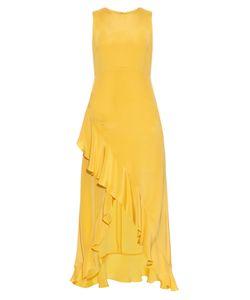 RAEY | Ruffled Silk Midi Dress