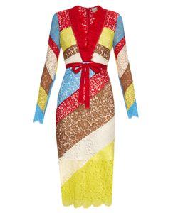 Preen By Thornton Bregazzi | Anoushka V-Neck Lace Dress