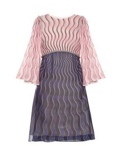 Mary Katrantzou | Belle Snuffbox-Print Silk-Crepe Mini Dress