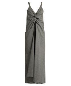 Ellery | Burlesque Prince Of Wales-Check Sleeveless Dress