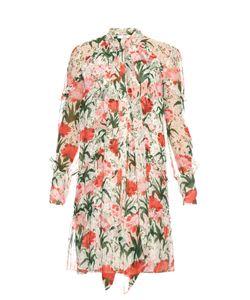 Erdem | Stevie Carnation-Print Silk-Voile Dress