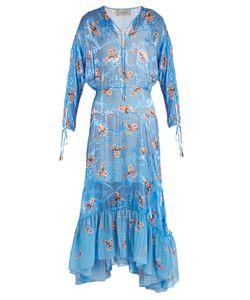 Preen By Thornton Bregazzi   Abels Printed Satin-Devoré Dress