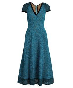 Roland Mouret | Etwell V-Neck Midi Dress