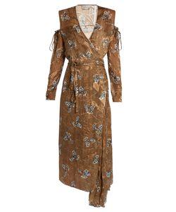 Preen By Thornton Bregazzi | Hayett Printed Satin-Devoré Dress