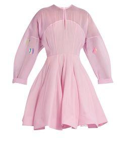 Natasha Zinko   Structured Silk-Chiffon Dress
