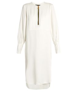 Ellery | Fosse Blouson-Sleeved Satin Dress