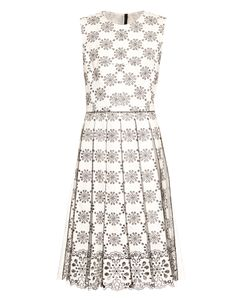 Marc Jacobs | Broderie-Anglaise Pleated Dress
