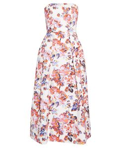 Mary Katrantzou | Pearl Solar Print Strapless Dress